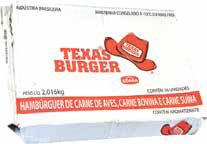 Hambúrguer Texas Burger Seara c 36un