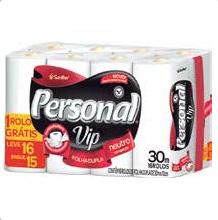 Papel Higiênico Personal Vip F.D. Leve 16 Pague 15